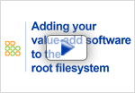 view adding value-add software to the root file system embedded linux demo