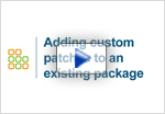 view adding custom patches to existing embedded Linux packages demo