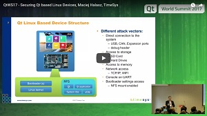 Watch Securing Qt based Linux Devices